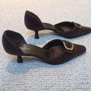 Shoes - Liz Claiborne heels with buckles